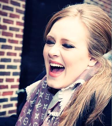 Adele photo - Laugh! :-D