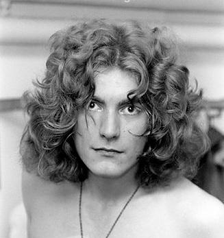 Robert Plant, jeune