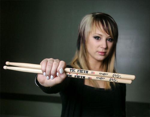drummer for skillet. carole ledger skillet