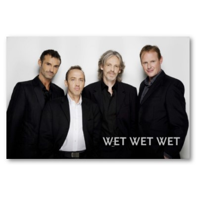 Drunkenly singing Wet Wet Wet