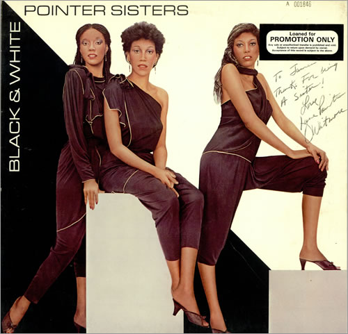 with the Pointer Sisters