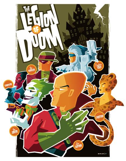Legion of doom the photo
