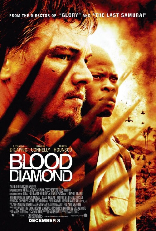 blood diamond. Soundtrack - Blood Diamond