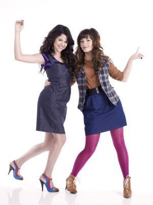 selena gomez and demi lovato on barney and friends. selena gomez and demi lovato