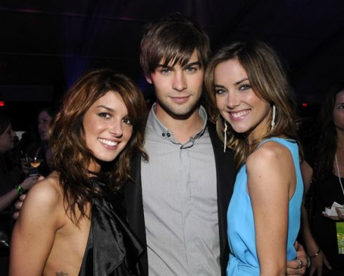Shanea Grimes, Chace Crawford, Jessica Stroup