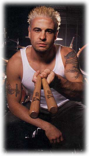 David From korn on drums