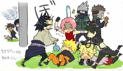 funny naruto team 7 -