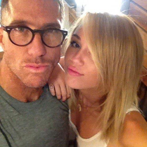 Miley is blonde))