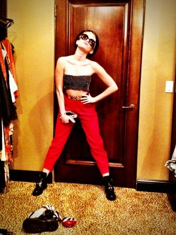 Z Mileyina twitteru