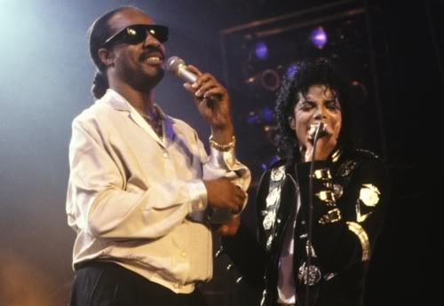 Stevie Wonder & Michael Jackson