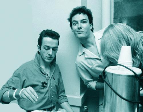 Dvě velké ikony punku: Joe a Jello Biafra, frontman Dead Kennedys.