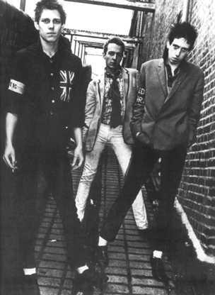 Fotografie použitá na první album Clash