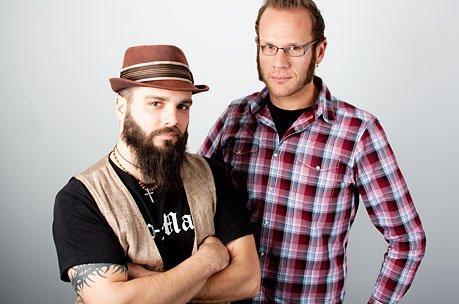 Jesse Leach and Adam Dutkiewicz