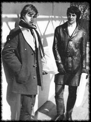 Na snímku: Graham Smith a Frank Renshaw