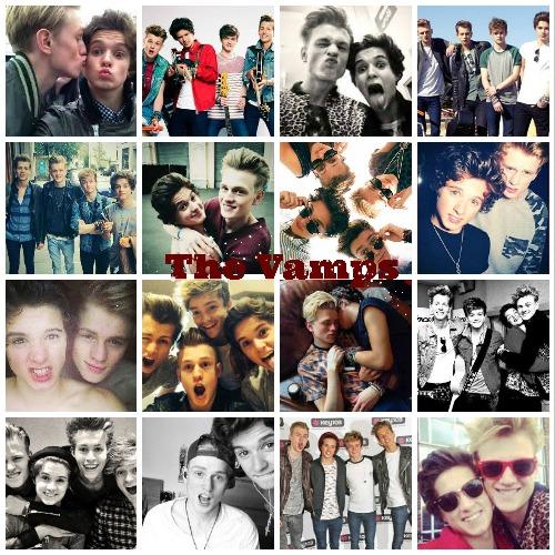 Vlastní tvorba :3 The Vamps & Tradley <3