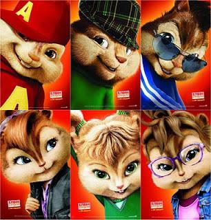 Six Chipmunk