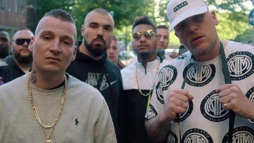 Členovia 187 z videoklipu Mit den Jungs
